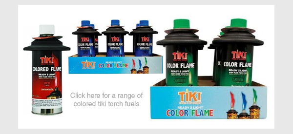 tiki torch fuel colored