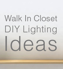 walk in closet lighting