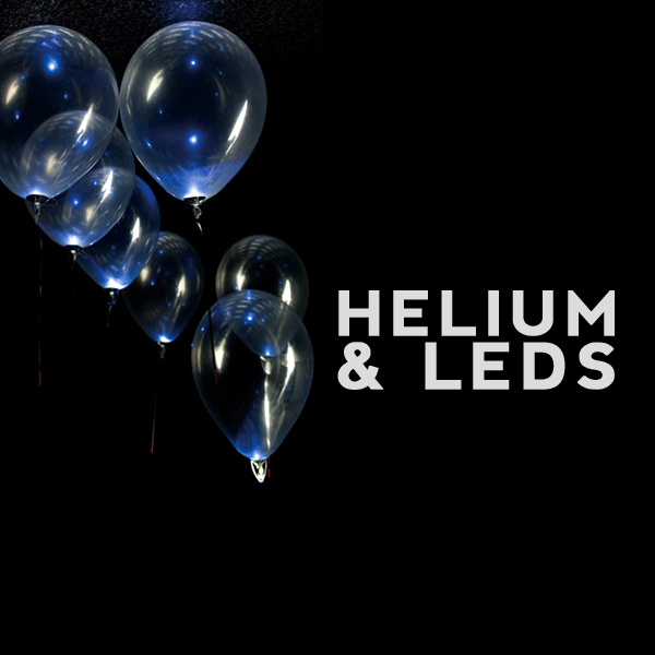 Helium Balloon LED Lights
