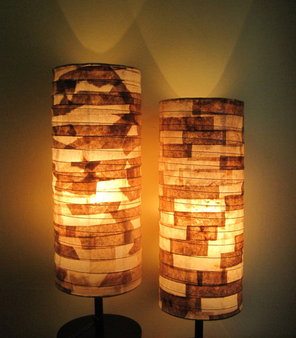 Coffee Filter Table Lamps