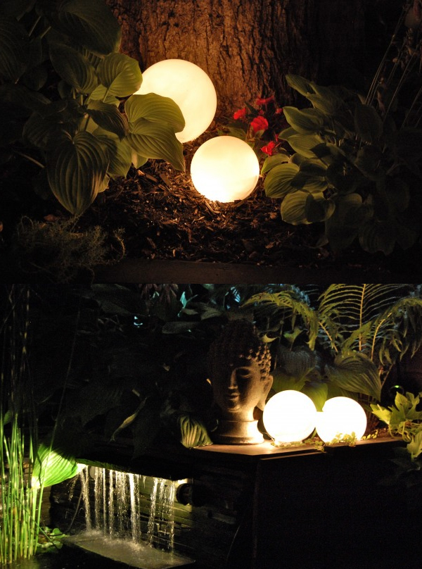 DIY Glowing Orbs Lights