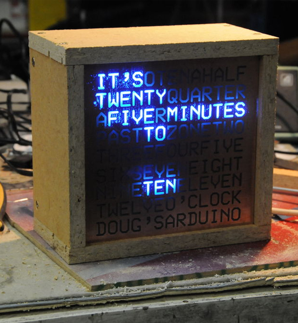 DIY Word Clock LED