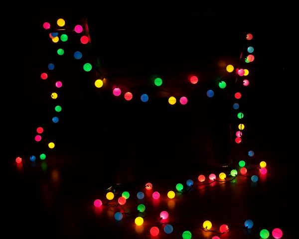 String Lights Ping Pong Balls : Colorful DIY Lighting Idea: String Lights + Ping Pong Balls Lights and Lights