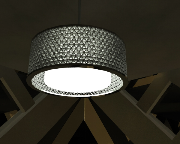 Tetra Pak Pendant Light