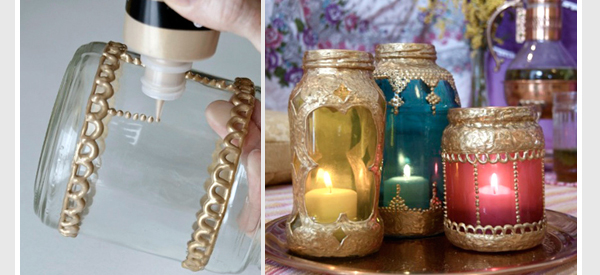 DIY Moroccan Lights