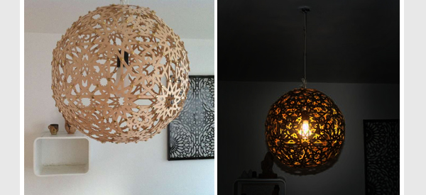 DIY Moroccan Pendant Light
