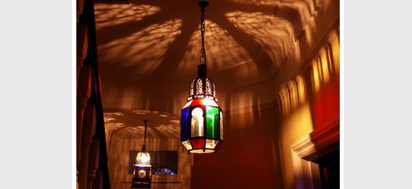 moroccan home lighting