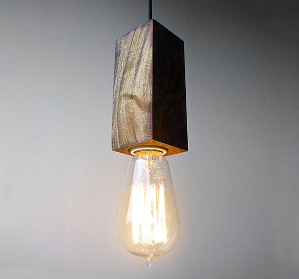 wooden pendant light 02
