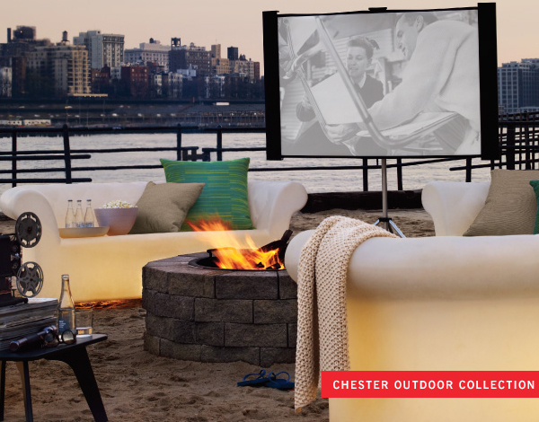 Chester Light Up Outdoor Furniture