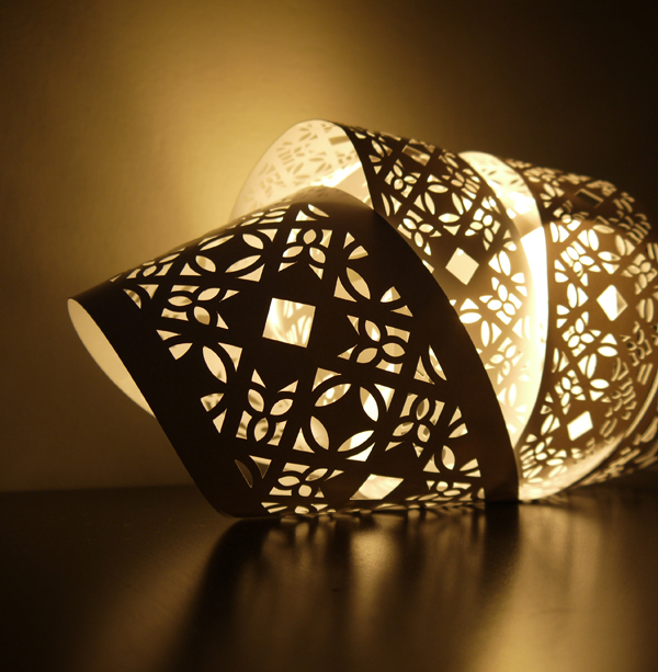 Laser Etched Light