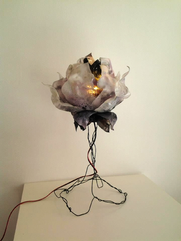 Light Sculptures Recycled Lamp