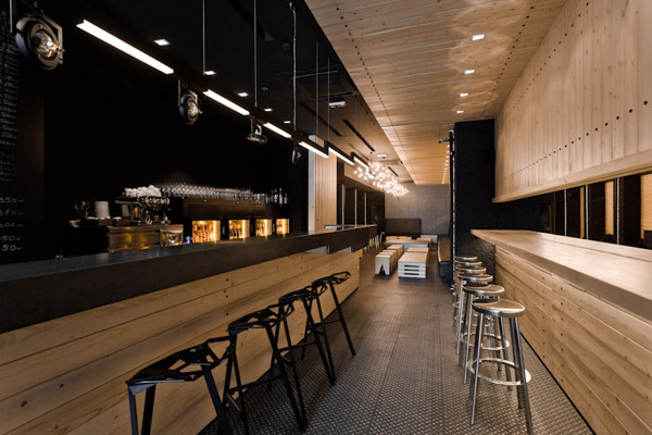 Wine Bar Interior Design