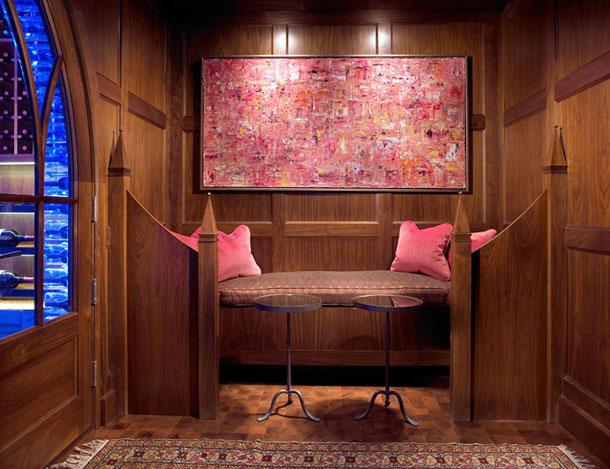 luxury LED wine cellar