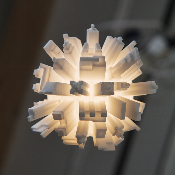 3D Printed Light Bulb 01