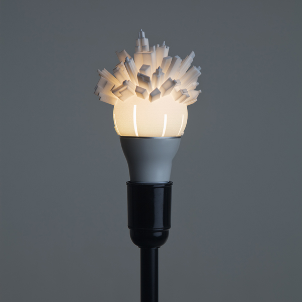 3D Printed Light Bulb 02
