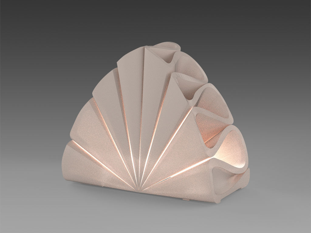 3D Printing Lamp 02