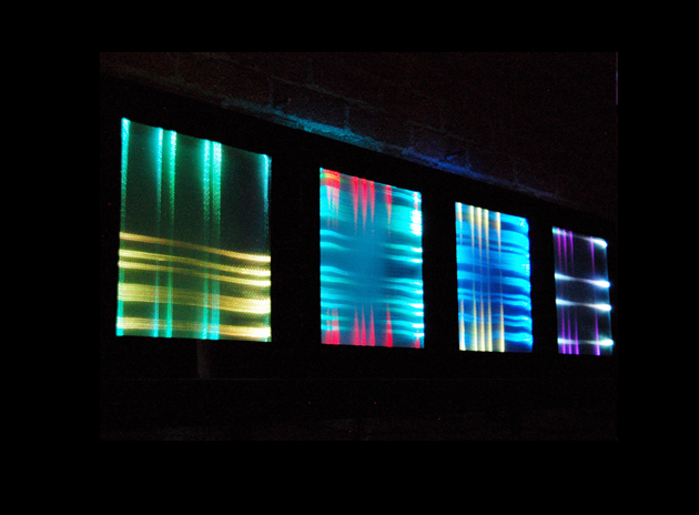 Fiber Optic Fabric Light Display