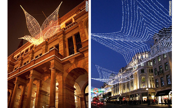 Germany London Christmas Lights