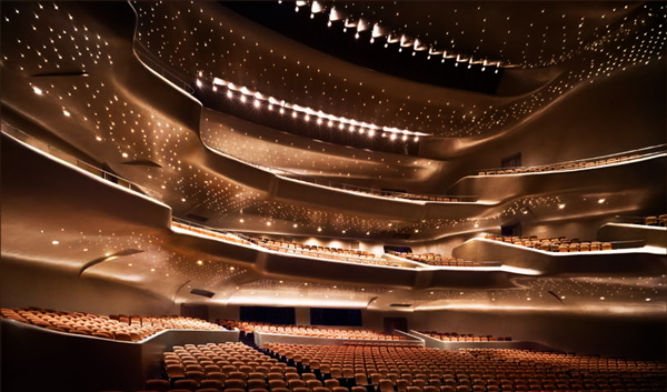 Guangzhou Opera House China Interior Design