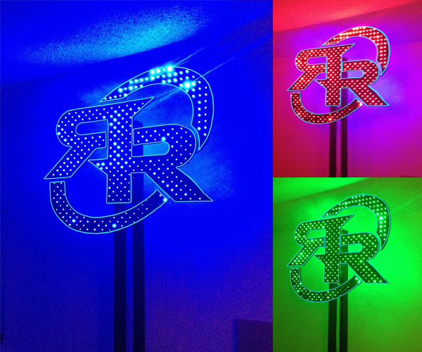 LED Light Sculpture