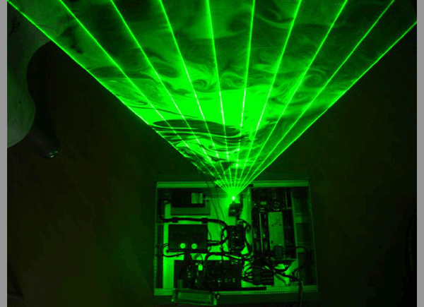 Laser Harp Music