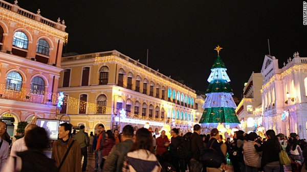 Macau Christmas Lights