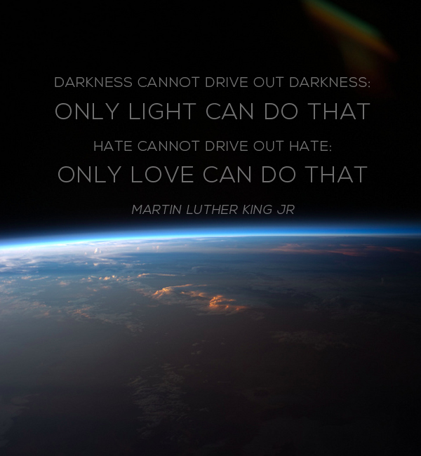 Martin Luther King Quote Love Darkness