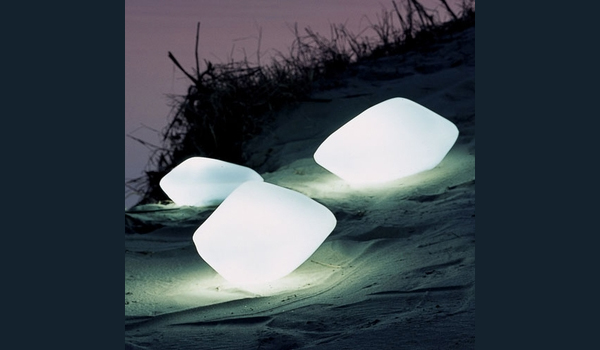 Outdoor Stone Lights